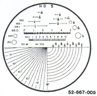 Fowler 7x Reticle #5 - 52-667-005