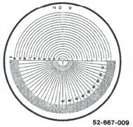 Fowler 7x Reticle #9 - 52-667-009