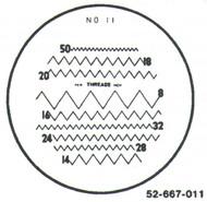 Fowler 7x Reticle #11 - 52-667-011