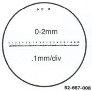 Fowler 7x Reticle #13 - 52-667-013