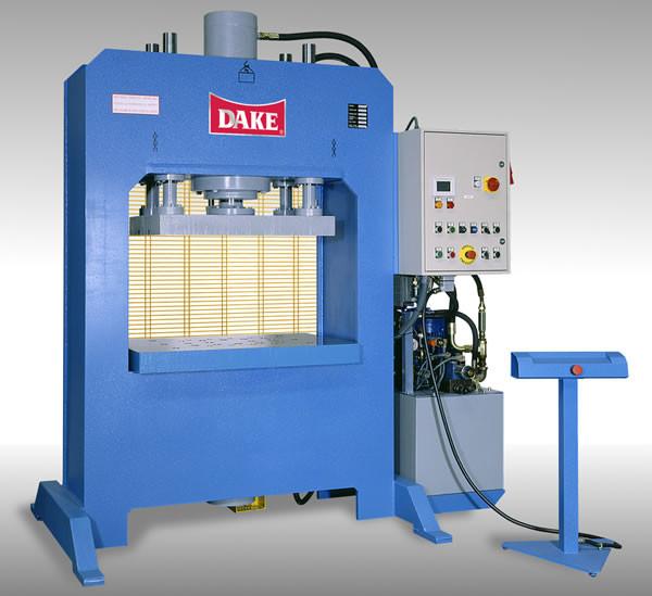 Dake Hydraulic PST Platen Press, 300 Ton, Automatic - PST-300A