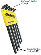 Bondhus ProGuard Stubby Double Ball End L-Wrenches