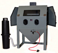 Cyclone Dual Side Door Opening Abrasive Sandblasting Cabinet - A4800