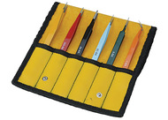 Aven E-Z Pik 6-Piece Tweezer Set - 18480EZ