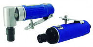 "Astro Pneumatic 1/4"" 90° Angle Die Grinder & Blue Composite Body - AP1222"