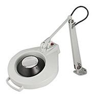 "Dazor Iron Man Machine Clamp Magnifier, 16-diopter (3""), Dove Grey - 1420E-16-DG"