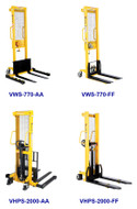 Vestil Manual Hydraulic Stackers