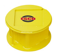 "ESCO 55 Ton Steel Stackable Cribbing Stand, 6"" Height - 12502"