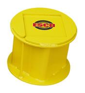 "ESCO 55 Ton Steel Stackable Cribbing Stand, 9"" Height - 12503-ES"