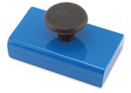 Rectangular Base Magnet with Knob, 20 Lbs. Pull - HMKS-A