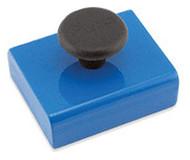 Rectangular Base Magnet with Knob, 38 Lbs. Pull - HMKS-C