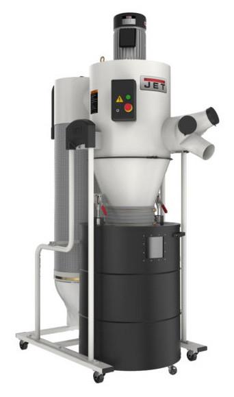 JET JCDC-3 Cyclone Dust Collector Kit, 3HP, 230V - 717530K