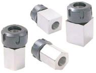 Precise Hex/Square ER Collet Blocks