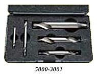 HHip Pro Series 5 Piece HSS Center Drill Set - 5000-3001