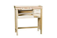 Grobet USA Jewelers' Deluxe Workbench with Skirt (Assembled) - 13.044