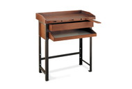 Grobet USA Jewelers' Single Station Workbench with Metal Legs - 13.020