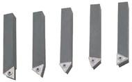"Indexable Carbide Turning Tool Set 5 pc., 5/8"" x 5/8"" Shank, TT-321 Insert, Screw #8 - 83-790-6"