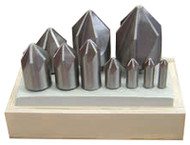 HSS & Cobalt Chatterless Countersink Sets