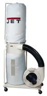 JET Vortex Cone DC-1100VX-BK Dust Collector, 1.5HP 1PH 115/230V, 30-Micron Bag Filter Kit - 708657K