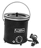 Waage Electric Round Dip Coating Pots
