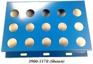 Precise 15 Piece ER-40 Collet Rack - 3900-5178