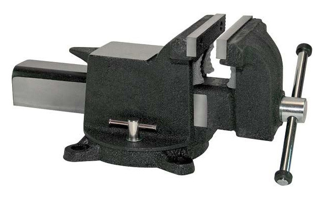 Marvelous Yost All Steel Bench Vise 906 As 61 207 079 Penn Tool Co Theyellowbook Wood Chair Design Ideas Theyellowbookinfo