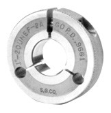 "Metric AGD Style Thread Ring Gages, 6G Tolerance ""No Go Ring"""