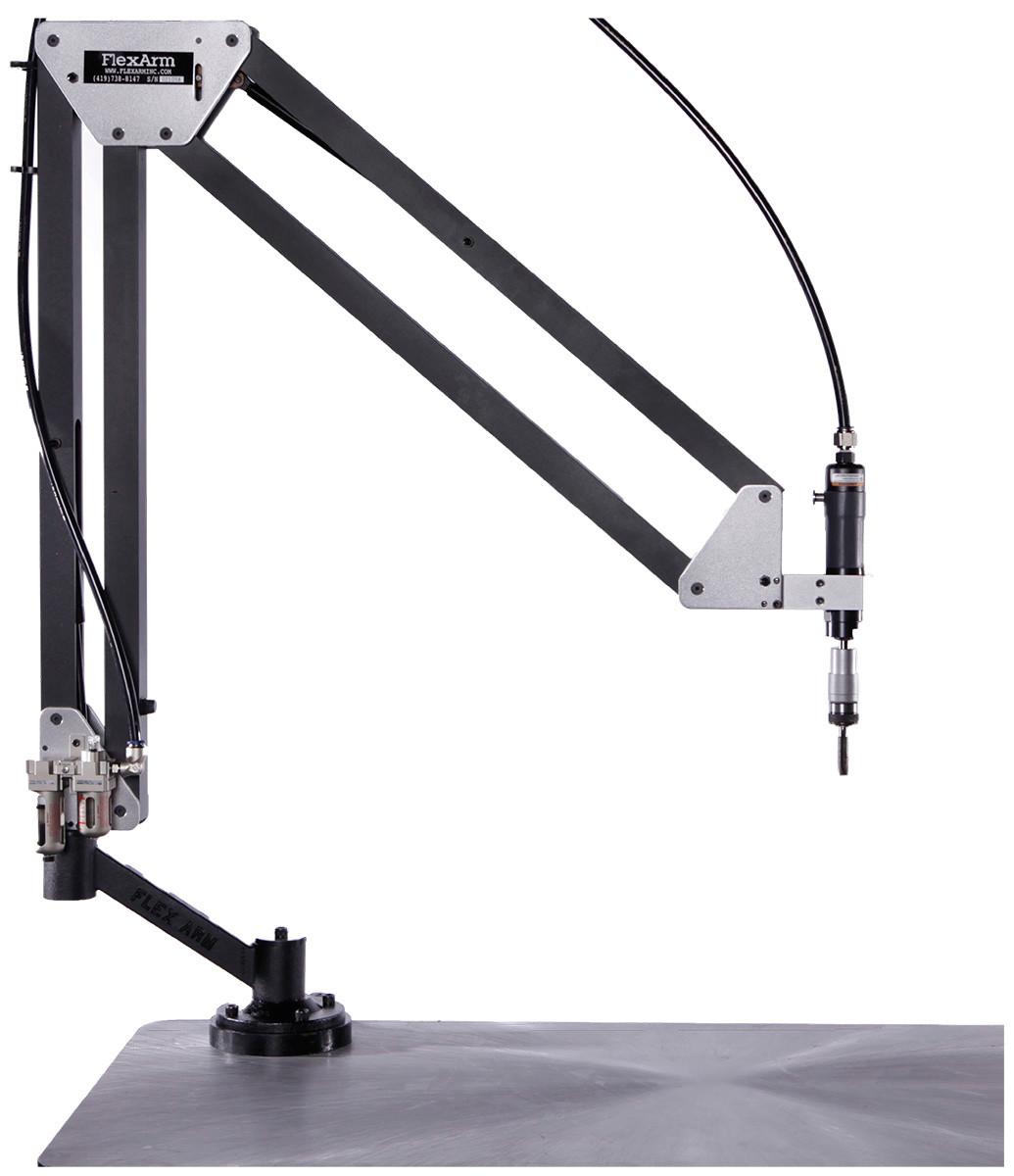 Flexarm Pneumatic Tapping Arms Penn Tool Co Inc The Pedestal Base Of My Fareastknockoff A Baldor Carbide Grinder Image 1