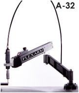 "FlexArm Pneumatic Tapping Arm Series A-32, 11-34"" Range, 1000 RPM - T10-A32"