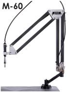 "FlexArm Pneumatic Tapping Arm Series M-60, 22-76"" Range, 1000 RPM - M60-FX900130"