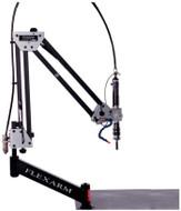 """FlexArm Pneumatic Tapping Arm Series RNR-20 w/ Multi-Position Head, 14-72"""" Range, 100/400 RPM - RNRM20-4"""
