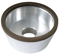 "Precise D11A2 Flaring Cup 4"" Diamond Wheel - 2405-4250"