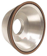 "Precise D11V9 3-3/4"" Flaring Cup Diamond Wheel - 2404-4125"