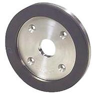 "Precise 6A2C 1"" Diamond Width Diamond Plain Cut Wheel - 2403-6750"