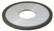 "Precise D1A1 4"" Diameter Straight Style CBN Wheel - 2400-4251"