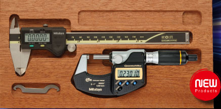 Mitutoyo 64PPP932 Mahogany Case for Digimatic Caliper and Micrometer Sets