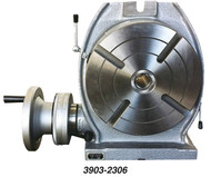 """Precise 6"""" Table Low Profile Horizontal & Vertical Precision Rotary Table - 3903-2306"""