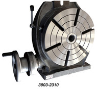 """Precise 10"""" Table Low Profile Horizontal & Vertical Precision Rotary Table - 3903-2310"""