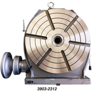 """Precise 12"""" Table Low Profile Horizontal & Vertical Precision Rotary Table - 3903-2312"""
