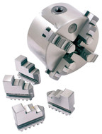 Precise 4-Jaw Self-Centering Scroll Chucks