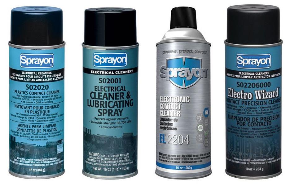 Sprayon Contact Cleaners - Penn Tool Co , Inc