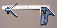 PEC Combination Square (3-Piece Set), 600mm Metric - 7125-600