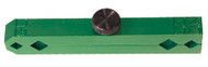 Accurate Green Anodized Aluminum Pin Gage Handle - Z2800-GREEN
