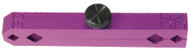 Accurate Purple Anodized Aluminum Pin Gage Handle - Z2800-PURPLE