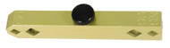 Accurate Yellow Anodized Aluminum Pin Gage Handle - Z2800-YELLOW
