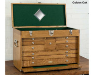Gerstner 2610 Journeyman Chest Natural Walnut - 2610-NW