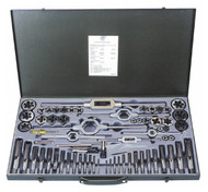 Interstate Tap and Die Set CCT1593, UNF, 1/8-44 to 3/4-16 Tap, 1/8-44 to 3/4-16 Die - 70-146-6