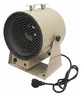 TPI Portable Electric Forced Air Unit Heater, 14,330 to 19,107 BTU Rating, 262 CFM - 90-540-6