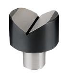 Mitutoyo V-Anvil, Outside ø40 mm, Groove width 30 mm - 810-040
