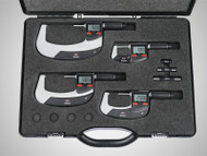 "Mahr Micromar 40 EWRi Digital Micrometer Set, 0-100mm/0-4"" - 4157115"